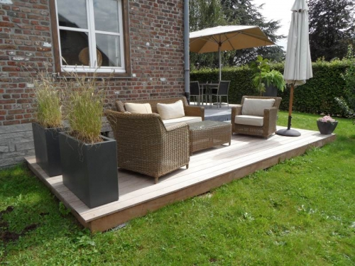 Decoration terrasse bois exterieur diverses for Terrasse amenagement et decoration